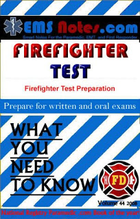 EMS Notes Firefighter Test Book